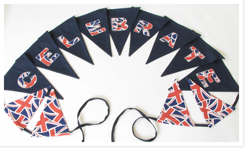 Orinoco Bunting. Made in UK.
