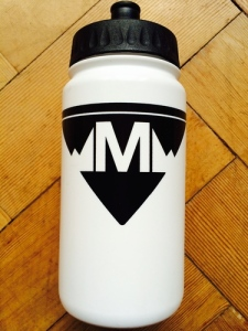 Moss Bikes Racing Bidon (cycling water bottle). 500cc. Made in England.