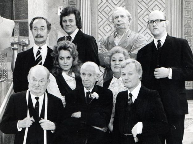 Original cast of Are You Being Served.
