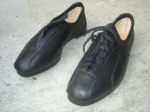 Reynolds cycling shoes. Made in England.