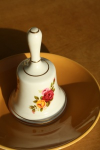 Camelot fine bone china bell - Made in England