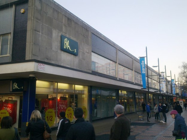 Former BHS, Swindon (4 Jan 2010).