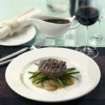 Dudson Classic White Finest Vitrified Tableware. Made in England.