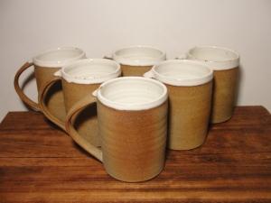 Andrew Pentland Ceramics Coffee Mugs.