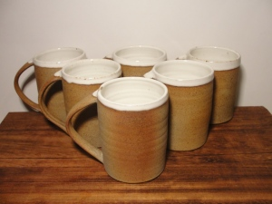 Andrew Pentland Ceramics Coffee Mugs.
