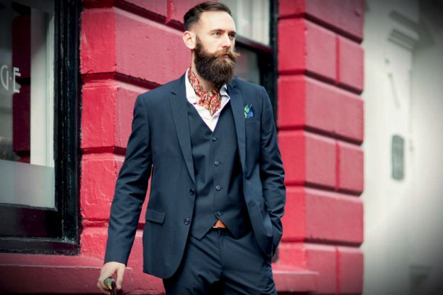 Gentleman with beard (from Cravat Club website)