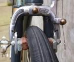 The revolutionary (at the time; 1945) GB hiduminium (aluminium) side-pull brake