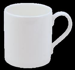 Hudson and Middleton Pure White - Jubilee Shape mug. Made in England.