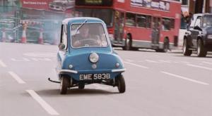 Jeremy Clarkson in a 1964 Peel P50