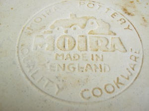 A Moira dish (2). Back stamp view. Photograph by author.