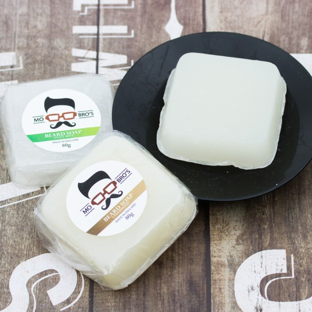 Mo Bro's Beard Soap - 80g. Made in England.