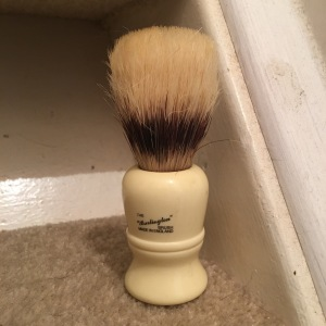 The Vulfix Pure Bristle Shaving Brush #406, also known as 'The Burlington'. Made in England.