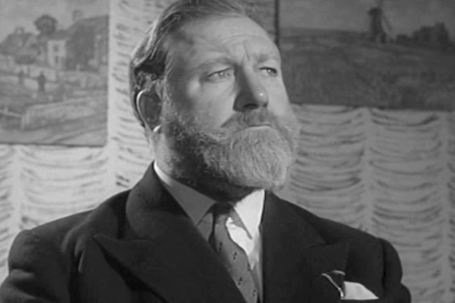James Robertson-Justice with his fabulous beard