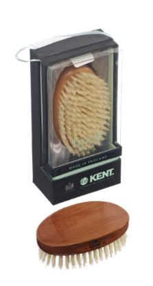 Kent MC4 Oval Military Bristle Brush. Made in England.