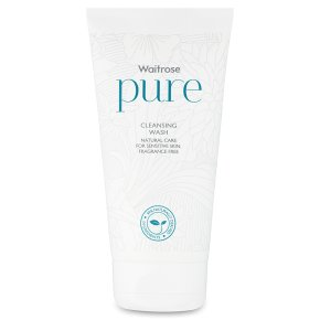 Waitrose Pure cleansing wash. Produced in the UK