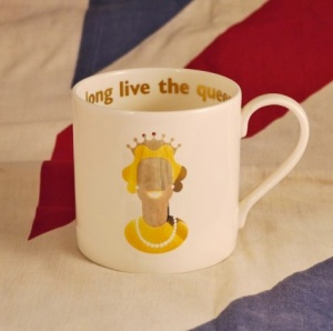 long live the queen mug by Big Tomato. Made in England