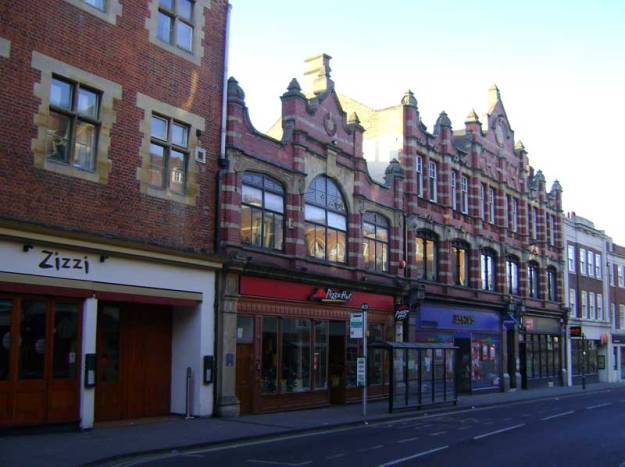 The site of the Co-op in George Street, Oxford.