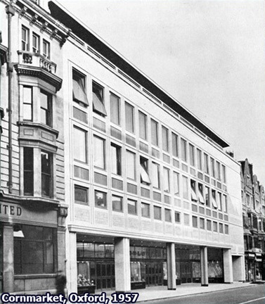Woolworths Oxford, 1957. There was an enclosed walkway at the left side of the premises which would lead you out to the back entrance of British Home Stores (with its famous cafeteria) and on to Shoe Lane and hence onto New Inn Hall Street.