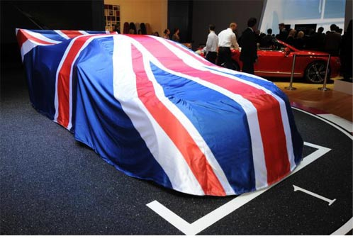 Specialised Covers / L&S Prints Union Flag car cover for Bentley. Made in England.