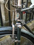An old style rod brake