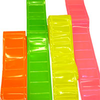 Brightkidz fluorescent, reflective sashes.  Adult (or junior).  Made in England.