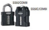 Squire SS50 Combi Padlocks.  Made in Britain