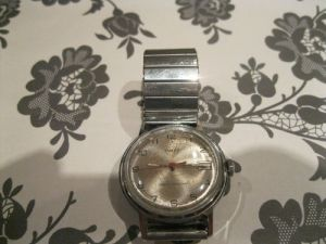 Vintage Timex manual wind watch. Made in Great Britain.