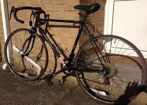 1980s British made Classic RALEIGH RECORD SPRINT racing bike