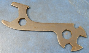 VINTAGE No.1322 CYCLE MULTI SPANNER,MADE IN ENGLAND