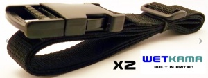 Wetkama Utility Straps Quick Release Compression Straps - UK Made
