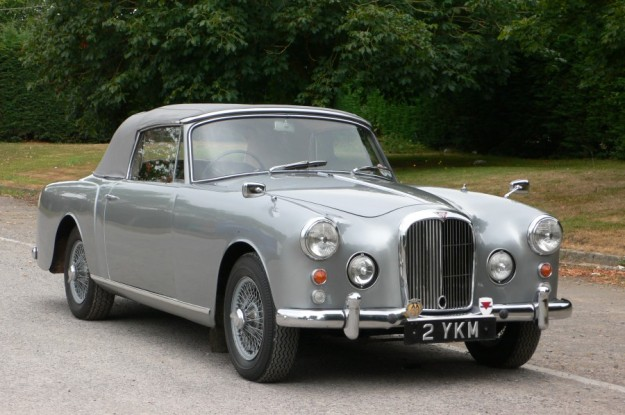 A 1963 Alvis TD21 Series II Drophead Coupe.