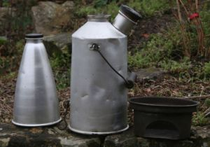 A vintage Sirram Volcano kettle