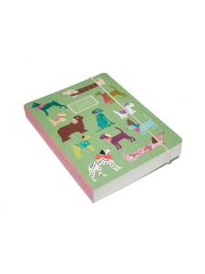 Go Stationery Animal Friends - Dogs A6 2014 full year diary page per day. Made in England
