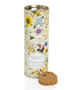 Crabtree and Evelyn Oat and Fruit Crumbles biscuits.  Made in Great Britain.