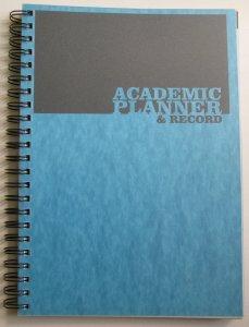 Silvine Acadamic Planner/Record - Blue