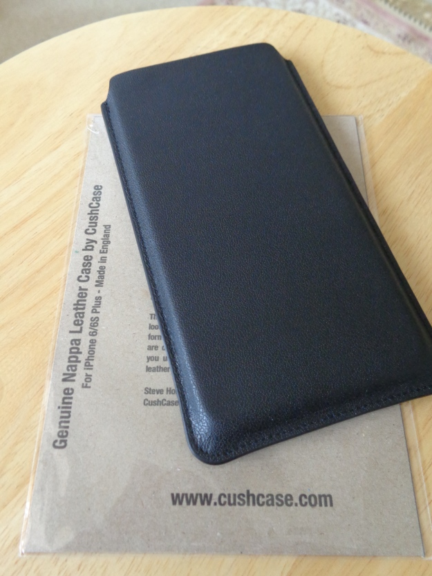 Leather iPhone 6/6S Plus case by Cushcase. Made in England.