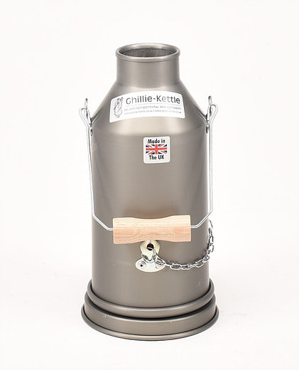 THE MAVERICK - HARD ANODISED Ghillie Kettle. Made in the UK.