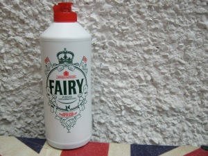 Fairy Liquid Diamond Jubilee bottle, 5.6.12