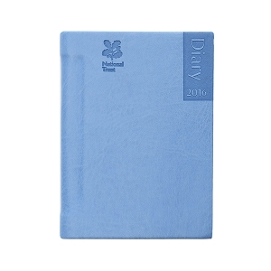 "National Trust 2016 Small Pocket Diary. Sunday start. ""Exclusively made for the National Trust in the UK."""