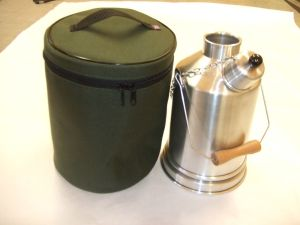 HEAVY DUTY CARRY CASE TO FIT EXPLORER 1ltr GHILLIE KETTLE made in UK by KDT.