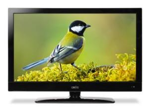"Cello Electronics 27"" C27118DVB LCD TV's. Made in the UK."