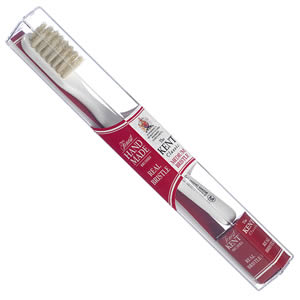 Kent Brushes handmade Classic M toothbrush.  Made in the UK