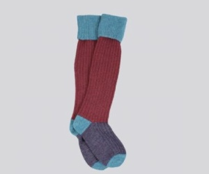 Corgi Shetland Wool Walking Socks