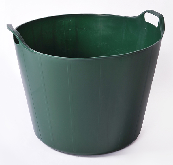 45 Litre RainbowTrug in dark green.  Made in England