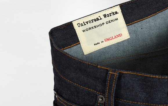 Some Universal works made in England jeans.