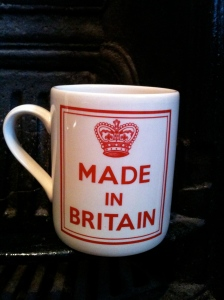 Made in England mug from Marks and Spencer, 22.11.12
