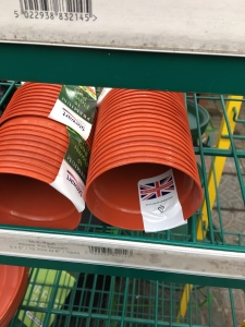 Steward plant pots. Manufactured in the UK.