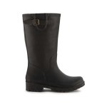 JUJU Harley Wellie in Black .  Made in England