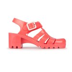 JuJu Babe Pastels Jellies in Coral.  Made in England.