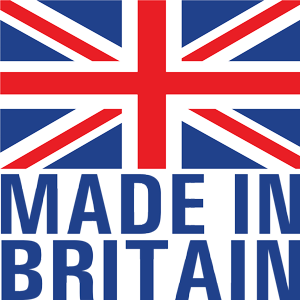 "British Family ""Made in Britain"" logo."